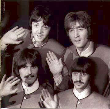 The Beatles Waving