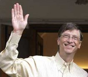 Bill Gates' right hand