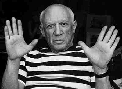 Pablo Picasso's Hands