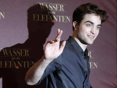 Robert Pattinson at the opening of Water for Elephants