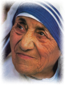Face reading of Mother Teresa